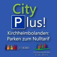 CityPlus Kirchheimbolanden Parken zum Nulltarif unterstützt von proKIBO e.V.