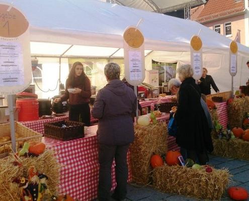 Oktobermarkt in Kirchheimbolanden mit proKIBO e.V.