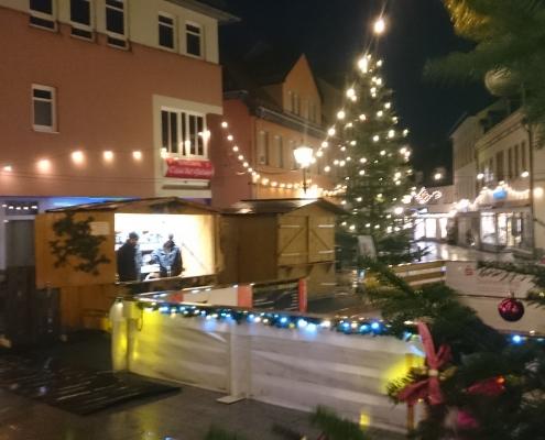Weihnachtszauber 2019 Eisbahn mit Schlittschuhausgabe