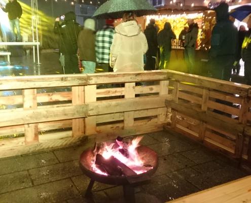 Weihnachtszauber 2019 Feuerstelle