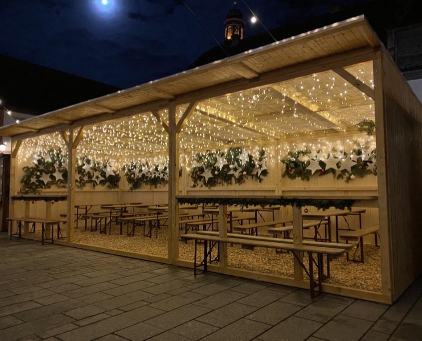 Weihnachtszauber 2019 neue Hütte von proKIBO