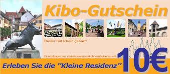 Kibo-Gutschein 10 Euro von proKIBO e.V. Kirchheimbolanden