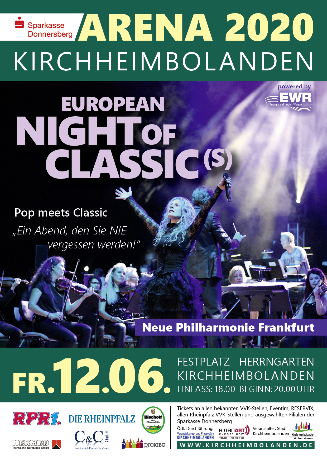 ARENA 2020 EUROPEAN NIGHT OF CLASSIC(S) präsentiert von proKIBO e.V.